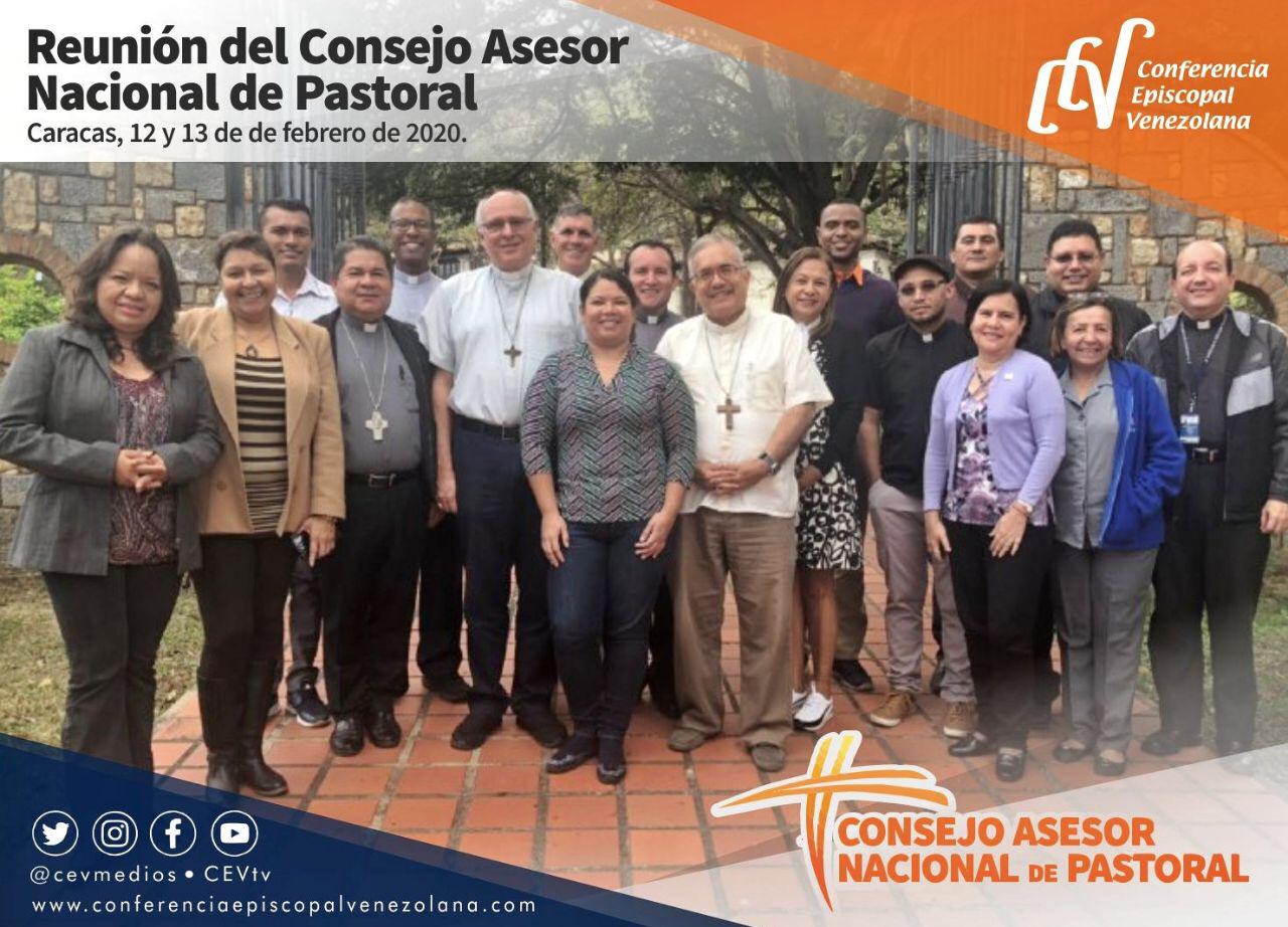 Consejo Asesor Nacional de Pastoral revisa recorrido realizado camino a la II ANP 2020