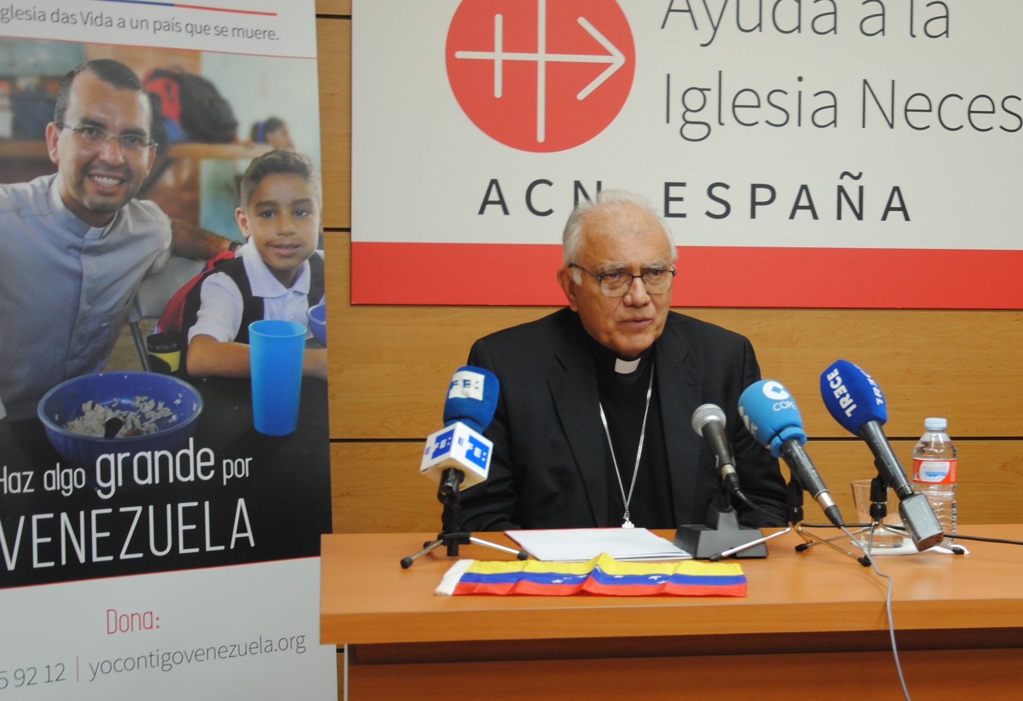 """El Cardenal Porras sobre Venezuela: """"los cambios verdaderos se construyen siempre desde abajo"""""""