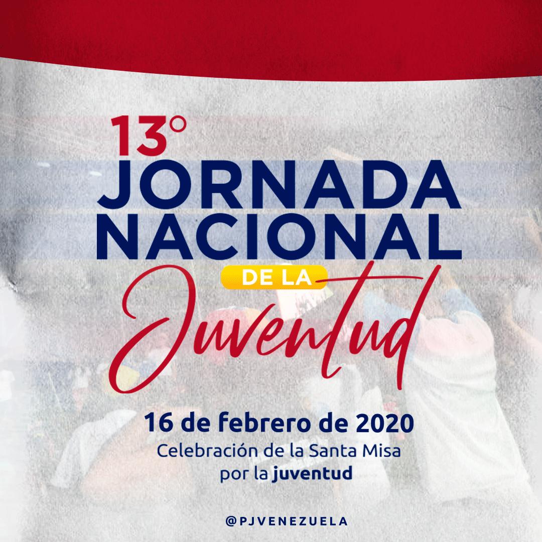 Pastoral Juvenil de Venezuela celebrará 13° Jornada Nacional de la Juventud