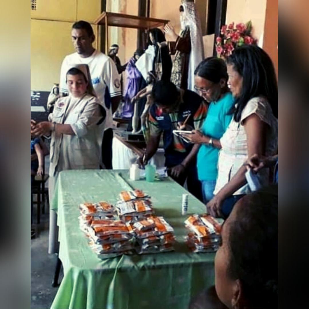 Cáritas de la Diócesis de San Carlos inició Proyecto Samán para asistencia social