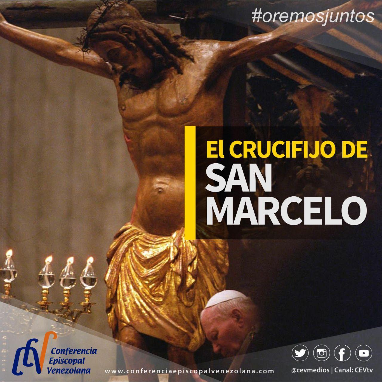 Crucifijo milagroso estuvo presente en la Bendición Papal Urbi et Orbi