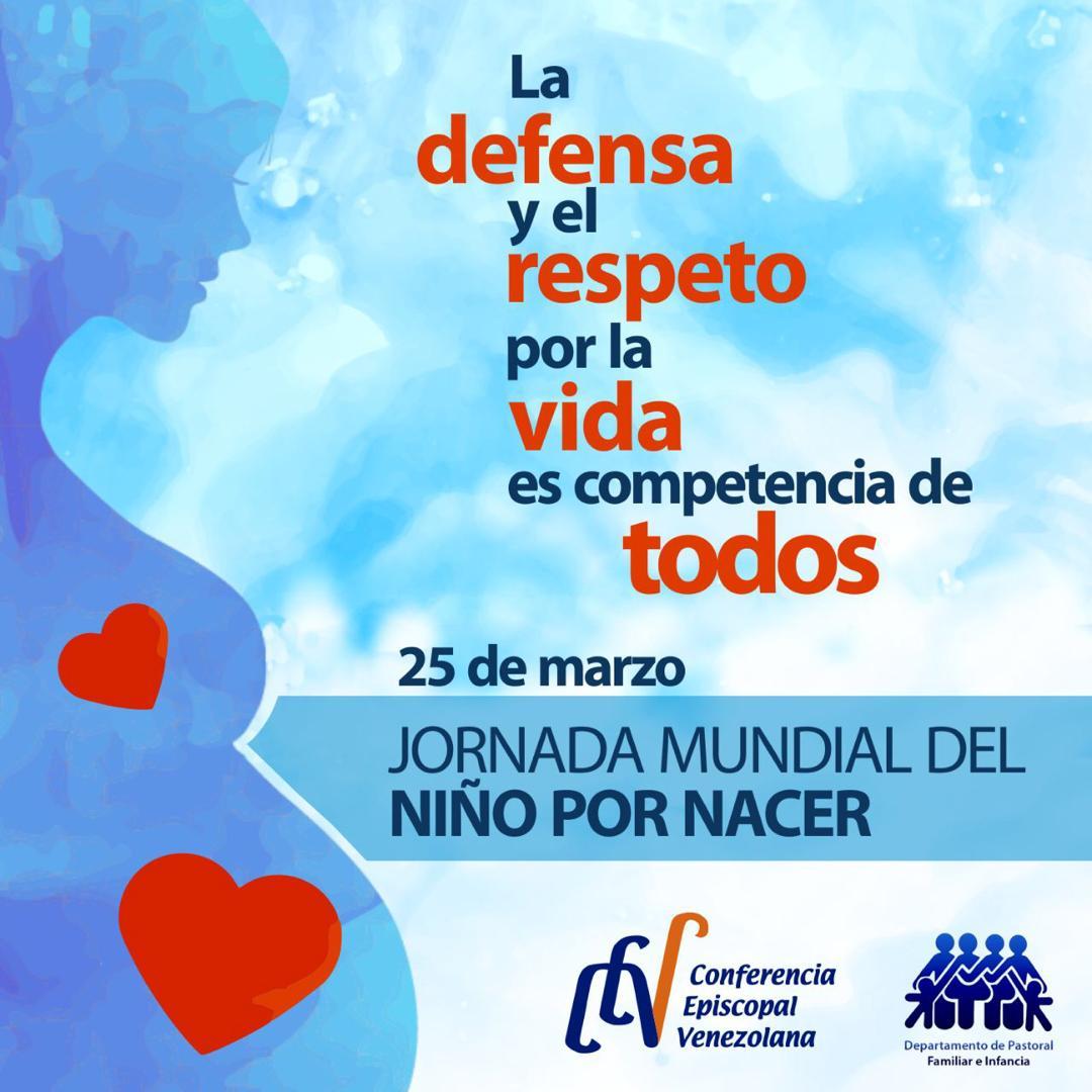 25 de marzo: Jornada Mundial del Niño por Nacer