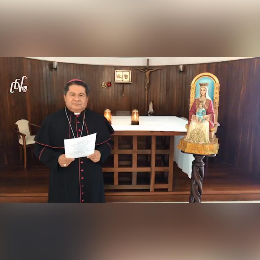 Conferencia Episcopal Venezolana en comunión con el rezo del Padre Nuestro convocado por el Papa Francisco