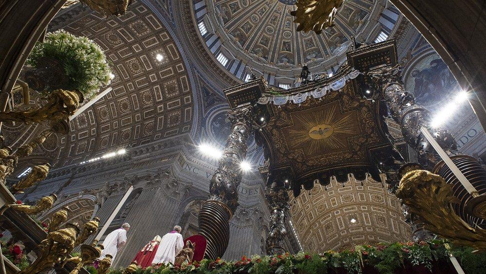 Actualización de las celebraciones de Semana Santa presididas por el Papa