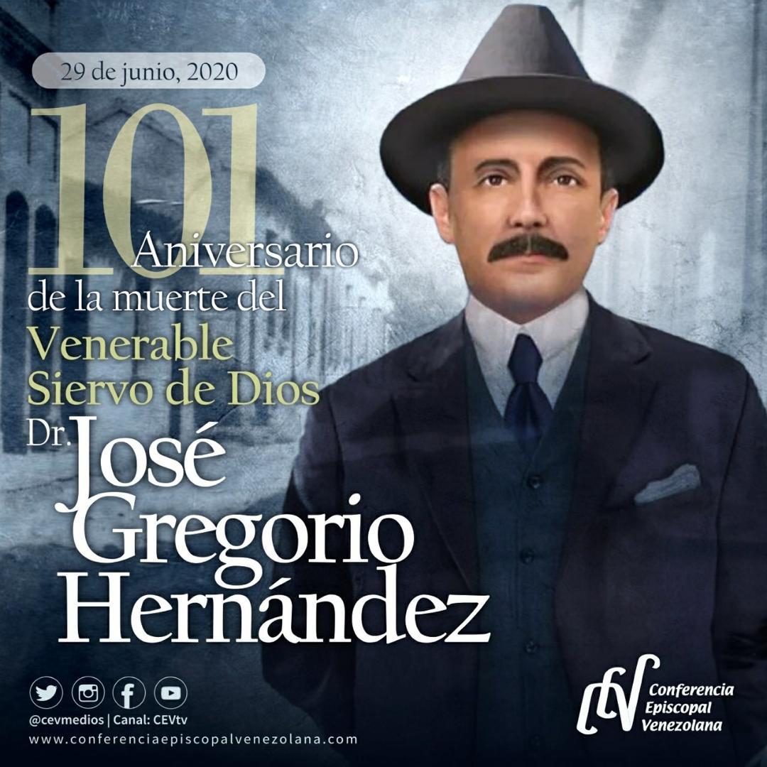 Dr Jose Gregorio Hernandez 101 Anos De Su Transito Al Cielo Conferencia Episcopal Venezolana