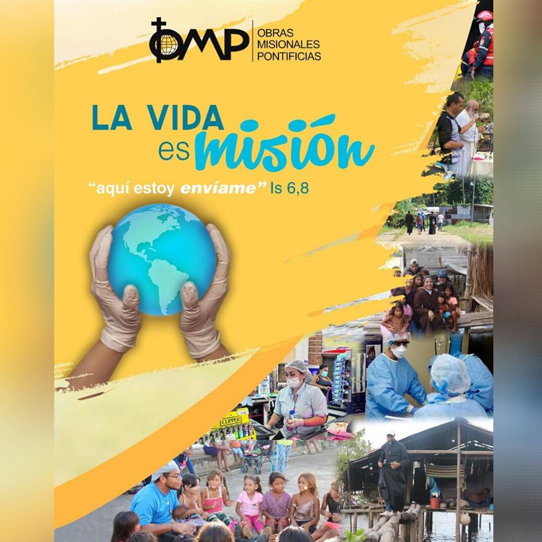"""Director de OMP Venezuela presentó """"Octubre Misionero"""" en la CXIV Asamblea del Episcopado Venezolano"""