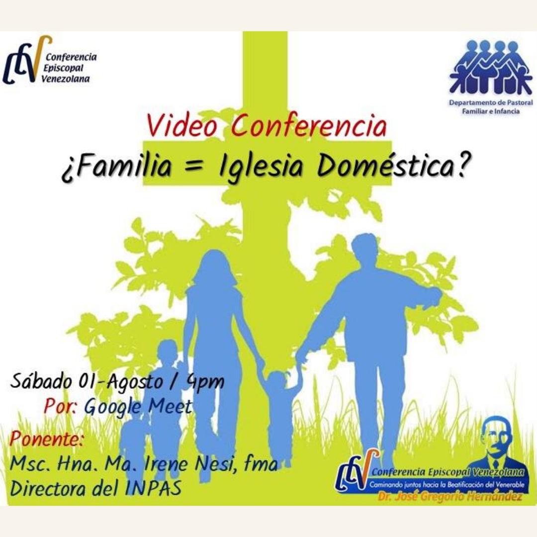 Departamento de Familia e Infancia realizará videoconferencia formativa para sus agentes pastorales