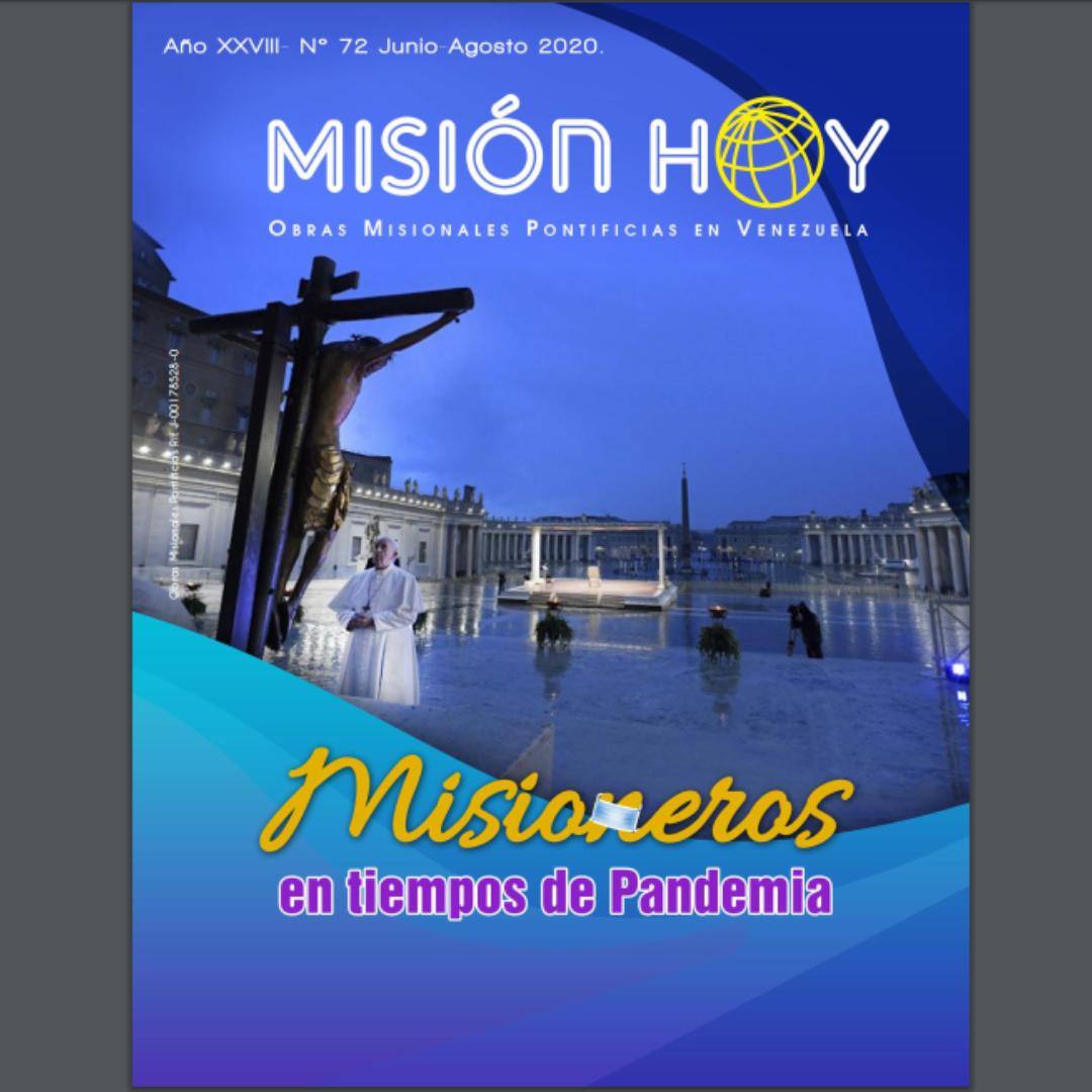 «Misioneros en tiempos de pandemia»: OMP Venezuela relanza en digital revista Misión Hoy