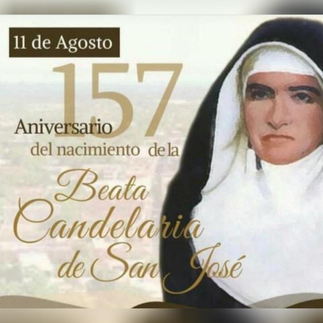 157 años del nacimiento de la Beata Candelaria de San José