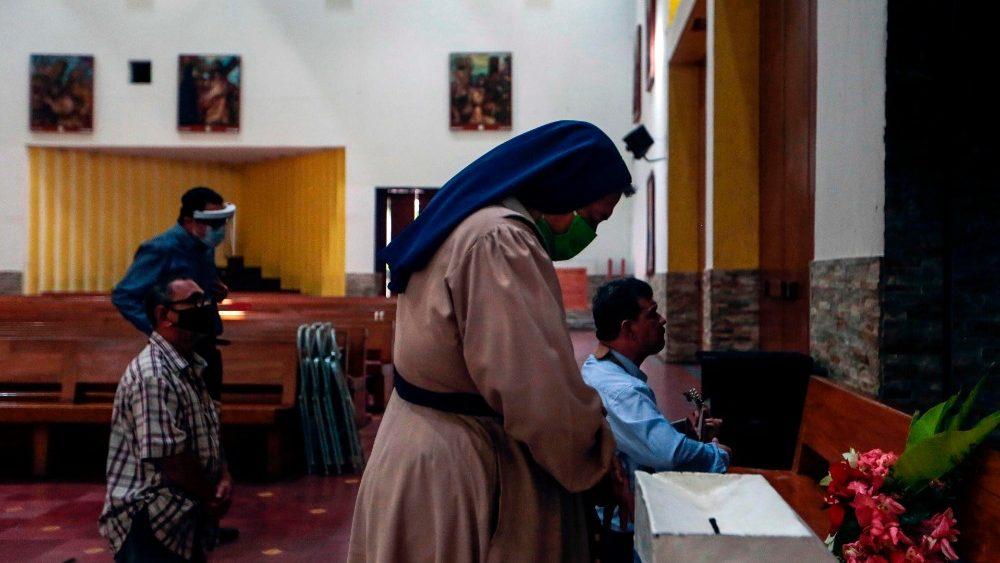 Arzobispo de Managua pide a los fieles ayuda para la reconstrucción de la capilla dañada