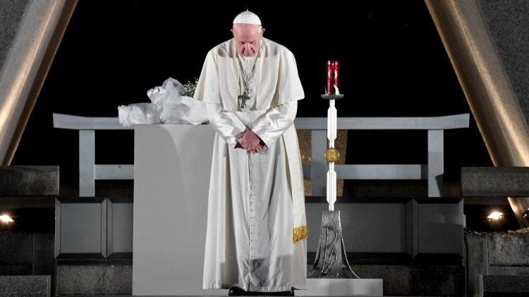 Papa Francisco: Mensaje por el 75º Aniversario de Hiroshima