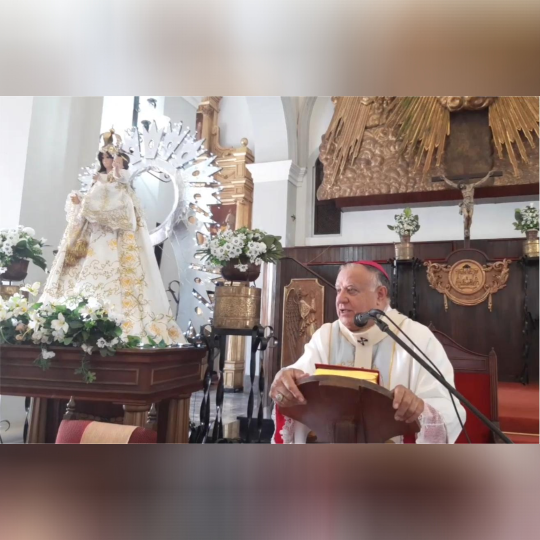 Arquidiócesis de Ciudad Bolívar celebró Eucaristía solemne en honor a su patrona la Virgen de las Nieves