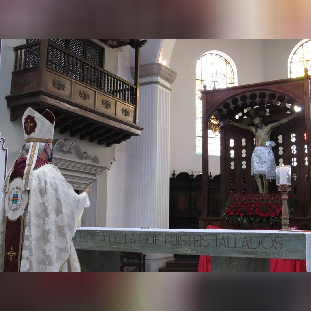 Diócesis de San Cristóbal: Consagración del Táchira y los Andes venezolanos al Santo Cristo de la Grita en sus 410 años