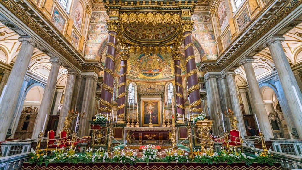 Roma: El «milagro de la nieve» vuelve a Santa María la Mayor