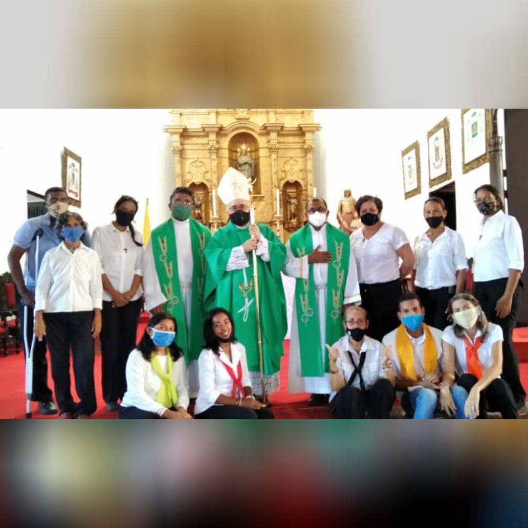 Arquidiócesis de Coro celebró Eucaristía de clausura de la Semana Nacional de la Catequesis 2020