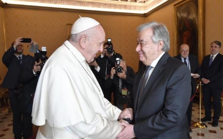 Mensaje del Papa a la ONU a cinco años de su visita a Nueva York
