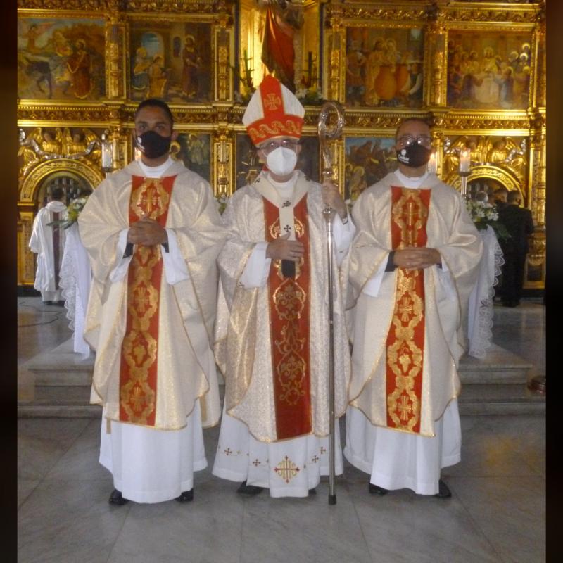 Dos nuevos sacerdotes para la Arquidiócesis de Cumaná