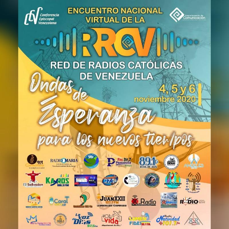 Más de 40 emisoras participaran en el Encuentro nacional virtual de la Red de Radios Católicas de Venezuela
