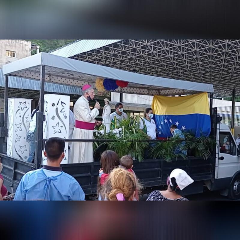 Diócesis de Maracay conmemoró 156 Aniversario de José Gregorio Hernandez con recorrido por centros de salud