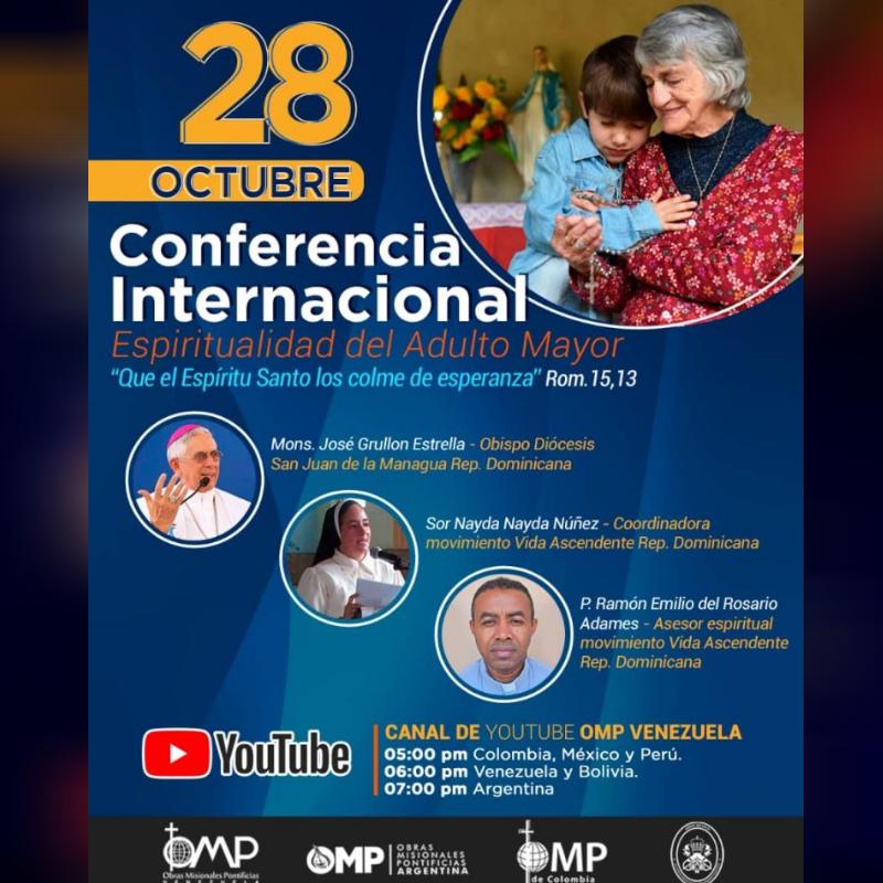 OMP de Venezuela, Argentina, Colombia, Bolivia, México y Perú realizaron la 3° Conferencia Internacional del Servicio de Enfermos y ancianos Misioneros