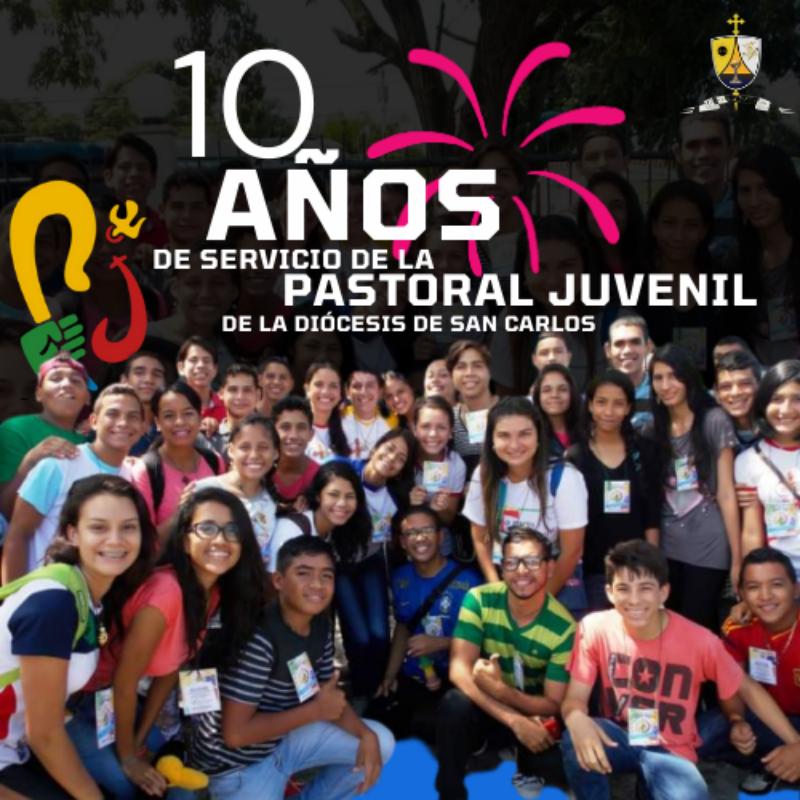Diócesis de San Carlos celebra 10 años de haber conformado el Secretariado de Pastoral Juvenil
