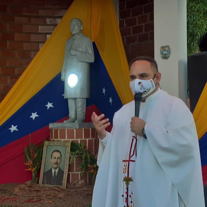 Diócesis de San Carlos celebró 156° aniversario del nacimiento del Dr. José Gregorio Hernández