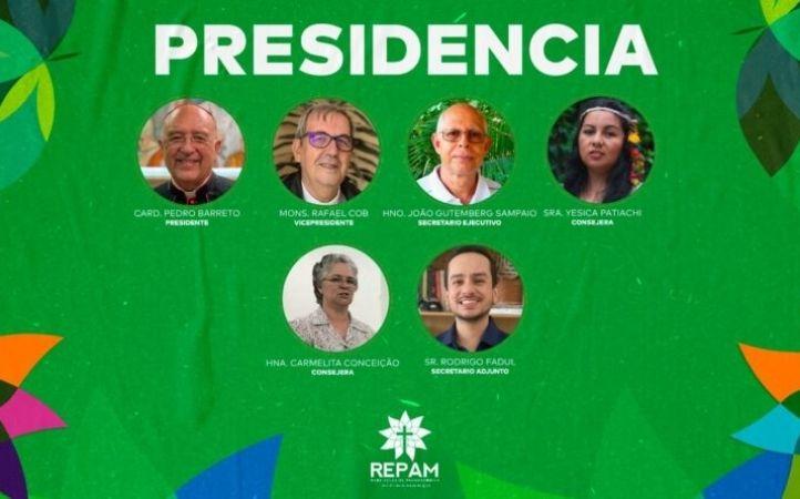REPAM amplía su presidencia con la presencia de dos mujeres