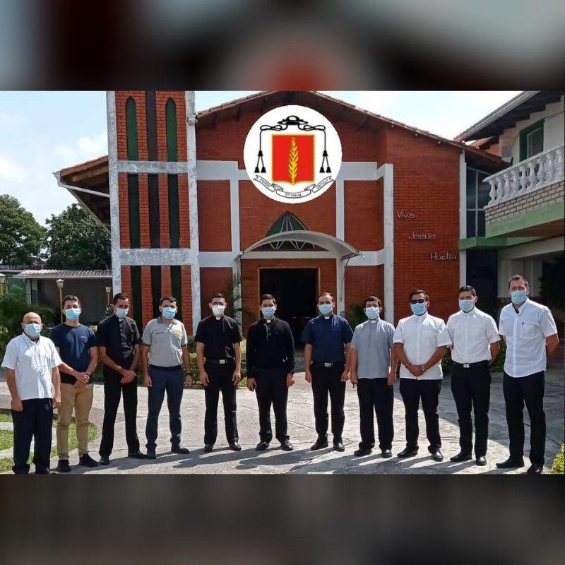 Diócesis de San Cristóbal realizó Encuentro de Seminaristas en año de pastoral