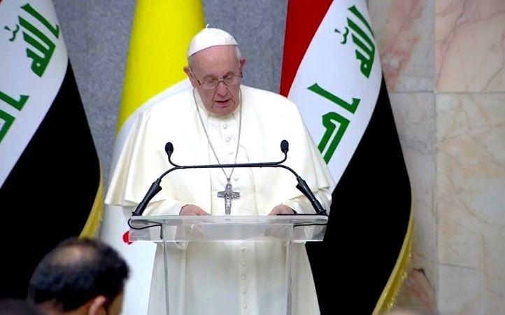 Papa Francisco en Irak: Que callen las armas y se dé voz a los artesanos de paz
