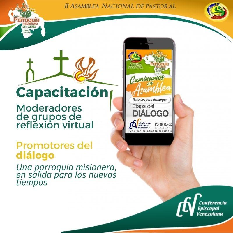 Realizada con éxito primera Capacitación virtual de moderadores de la II Asamblea Nacional de Pastoral