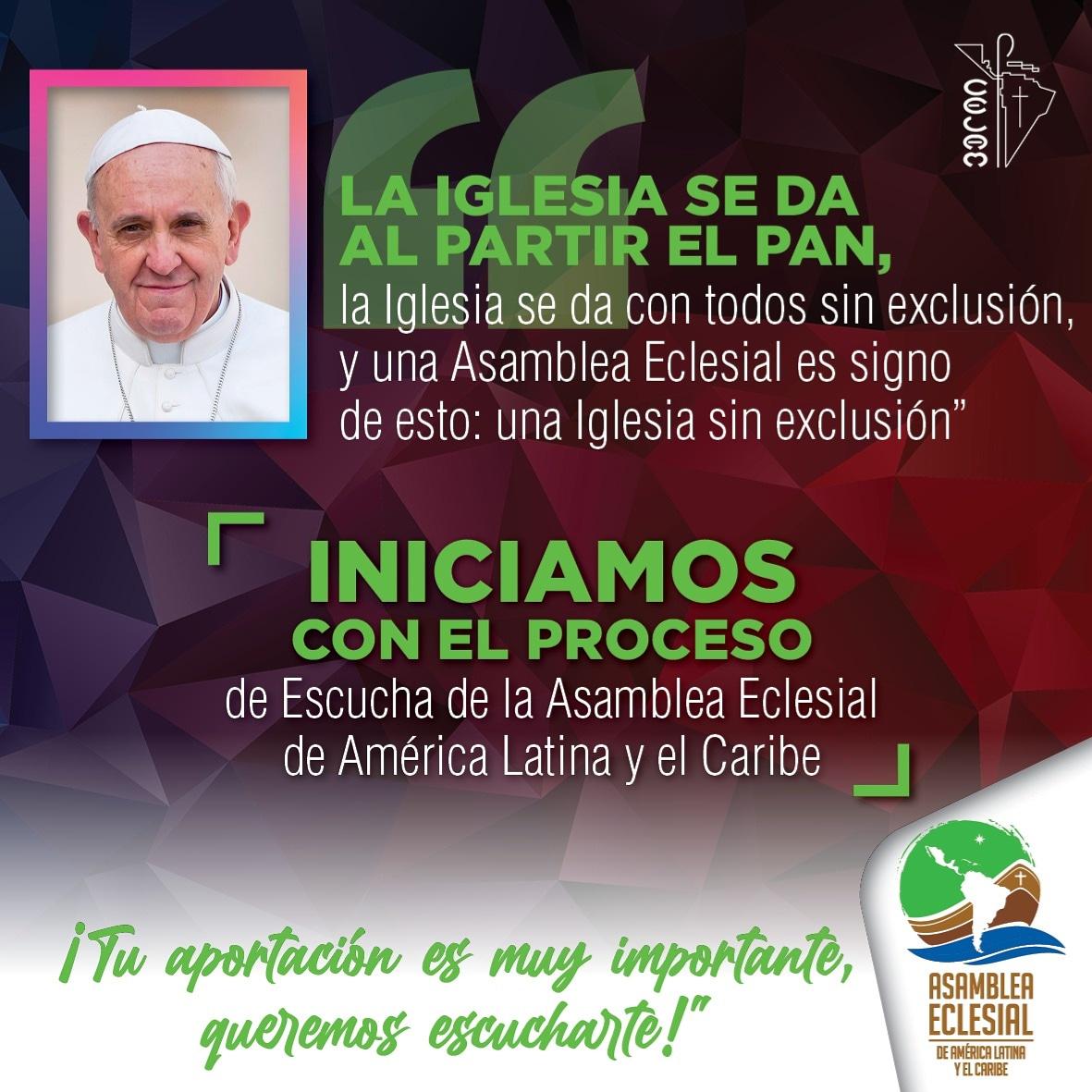 Inicia proceso de escucha de la Asamblea Eclesial de América Latina y El Caribe