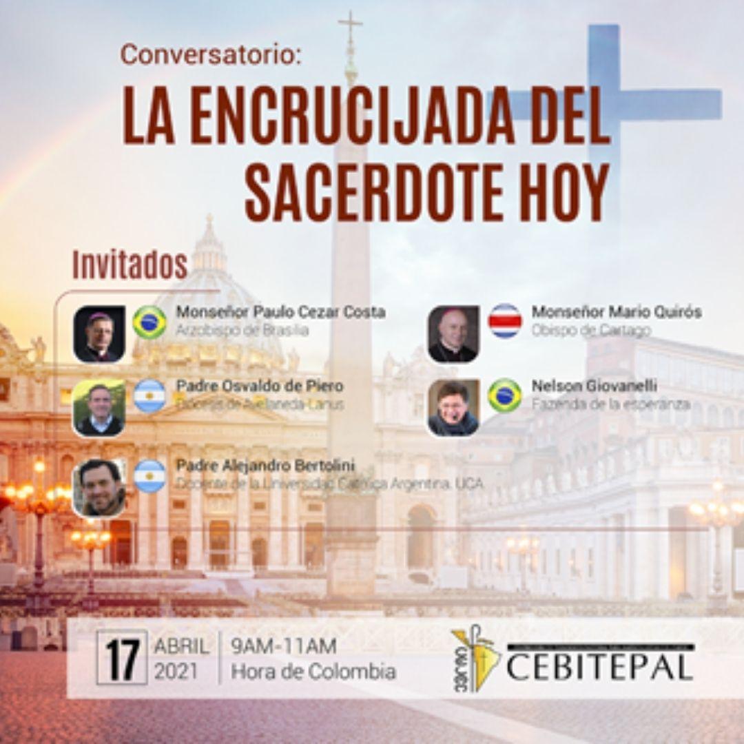 """CEBITEPAL realizará el conversatorio """"La encrucijada del sacerdote de hoy"""""""