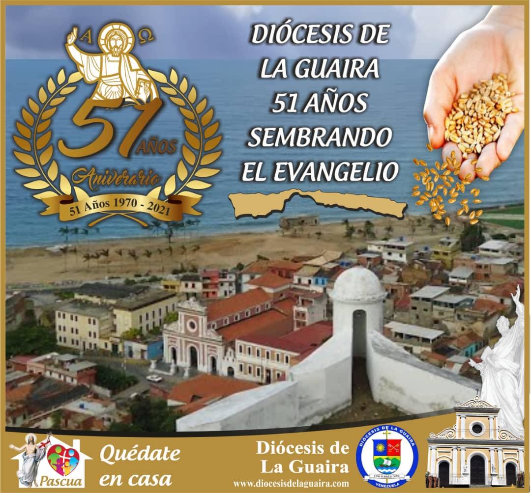 Diócesis de La Guaira arribó a su 51° aniversario de creación