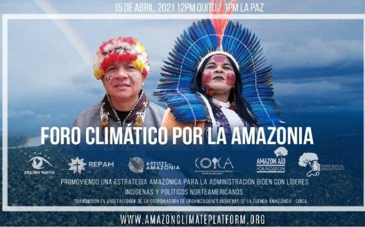 Crisis en Amazonia: Foro sobre la defensa, vigilancia y cooperación internacional