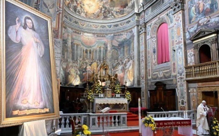 Papa Francisco celebrará Domingo de la Misericordia en Santo Spirito in Sassia