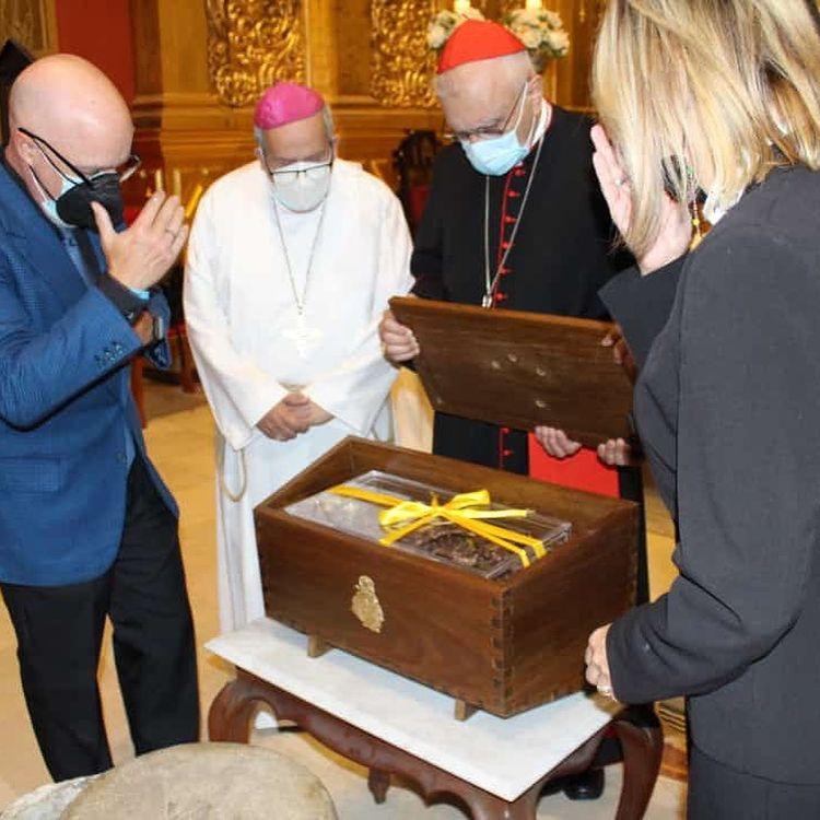 Ceremonia de Inhumación de los restos mortales del Beato José Gregorio Hernández