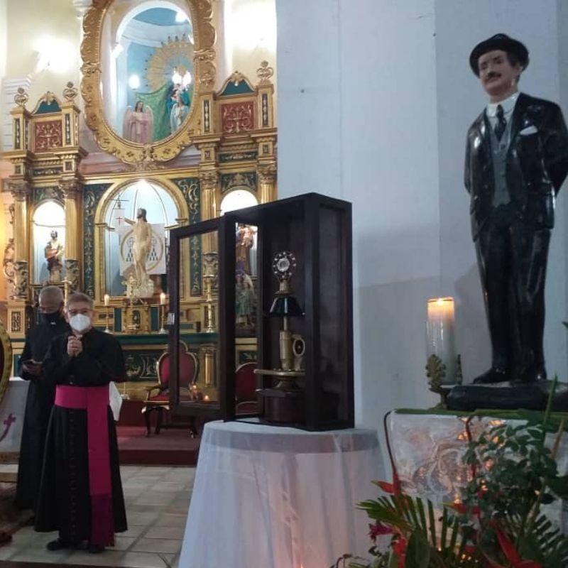 Diócesis de Barinas recibió Reliquia del Beato José Gregorio Hernández