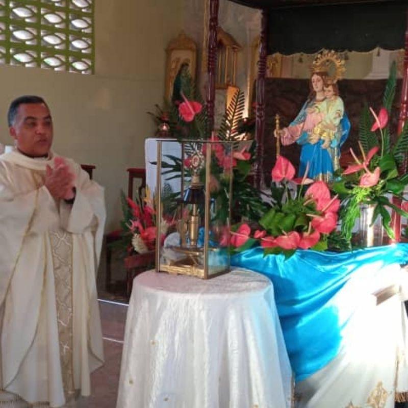 Reliquia del Beato José Gregorio Hernández recorre la Diócesis de Carúpano
