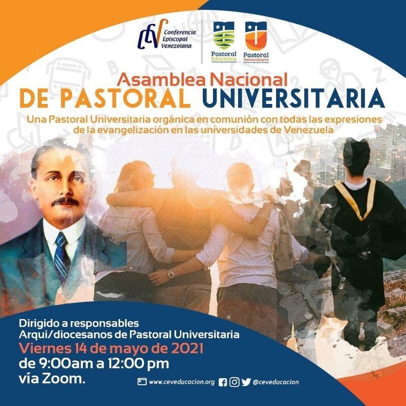 Departamento de Educación realizará primera Asamblea Nacional de Pastoral Universitaria