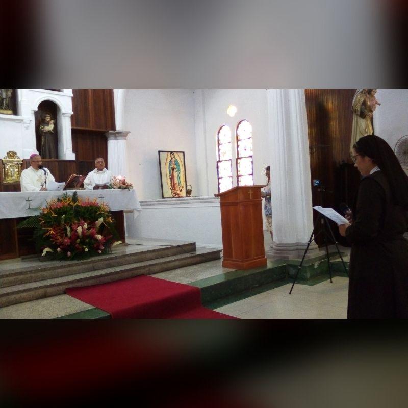 Terciaria capuchina realizó votos perpetuos en el Vicariato Apostólico de Tucupita