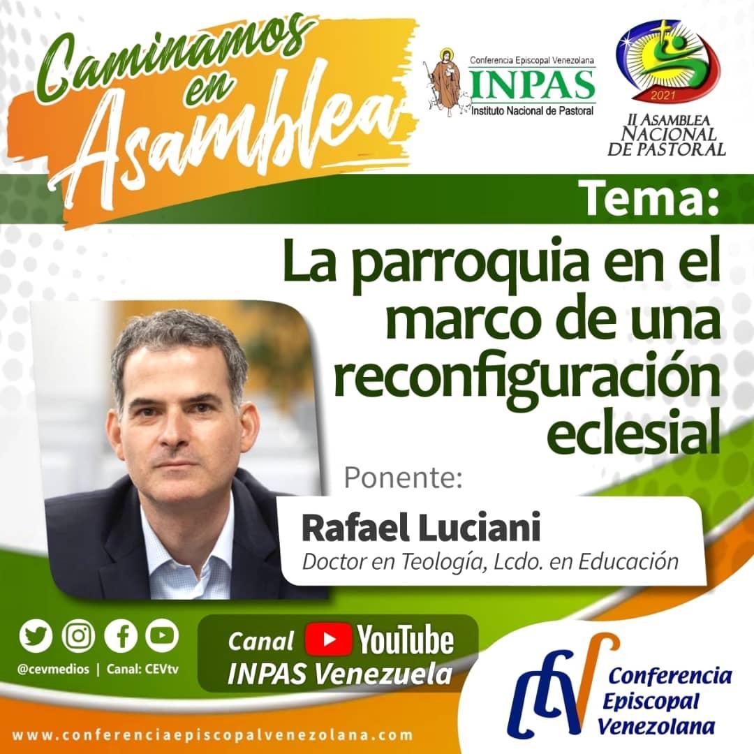 INPAS ofrece videoconferencia «La parroquia en el marco de una reconfiguración eclesial»