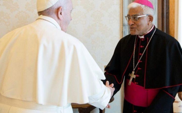 Papa Francisco recibió al Presidente del CELAM en audiencia privada