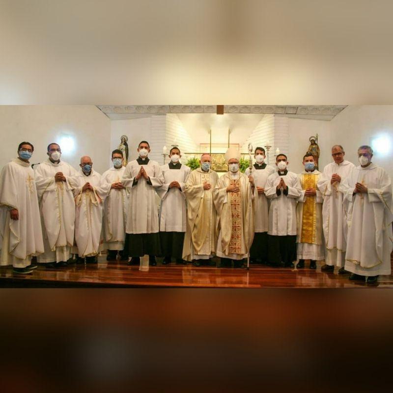 Diócesis de San Carlos celebró admisión de las Sagradas Órdenes y Ministerio del Lectorado de 4 seminaristas
