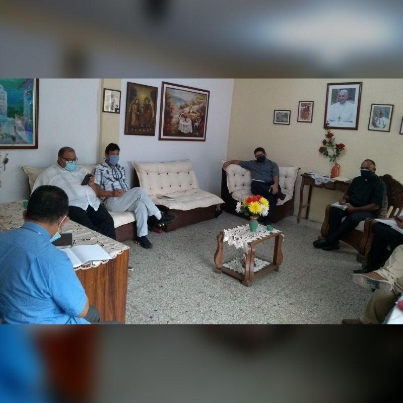 Consejo Presbiteral de la Diócesis de San Fernando de Apure realizó reunión de planificación de proyectos pastorales en tiempo de pandemia
