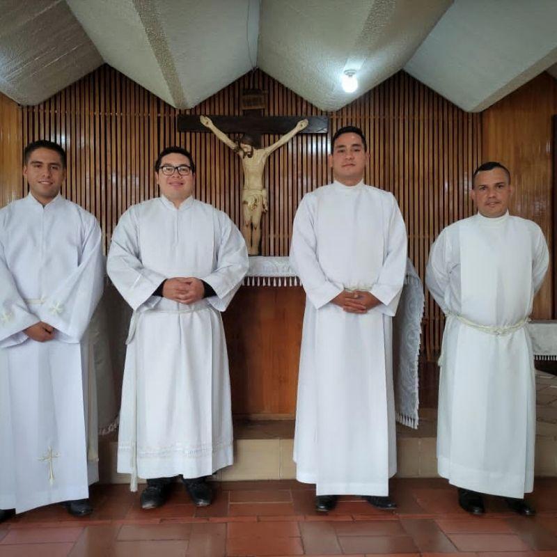 Seminaristas de la Diócesis de San Fernando de Apure reciben admisión a las órdenes en el Seminario de Bogotá