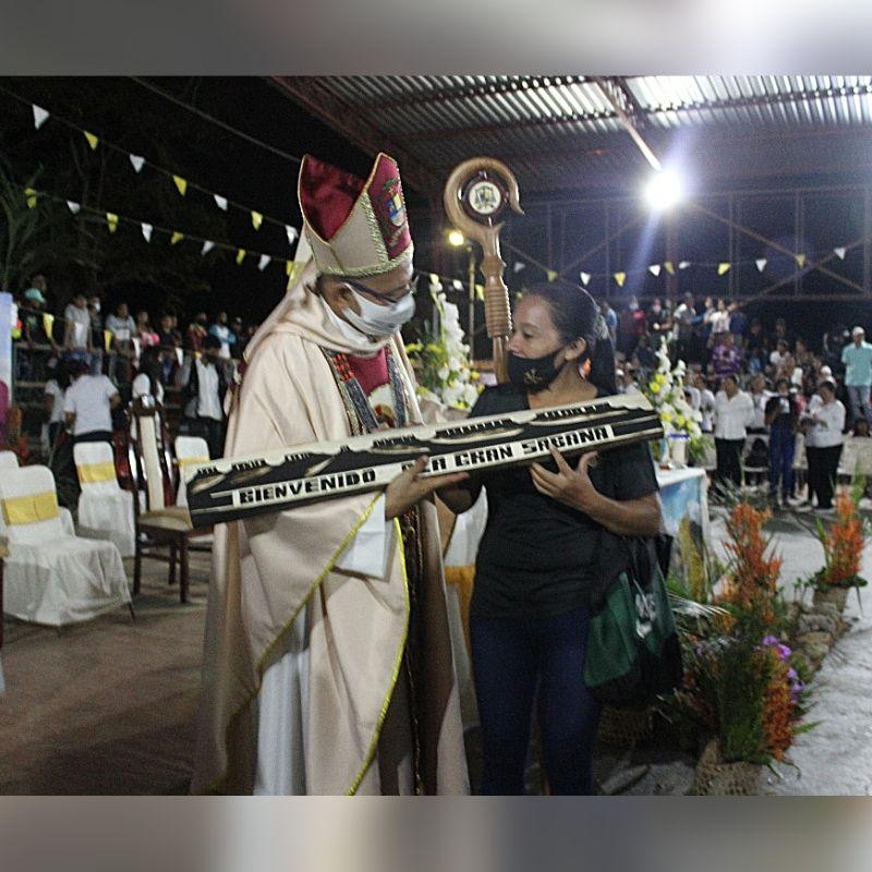 Mons. Ontiveros tomó posesión como nuevo Vicario Apostólico del Caroní