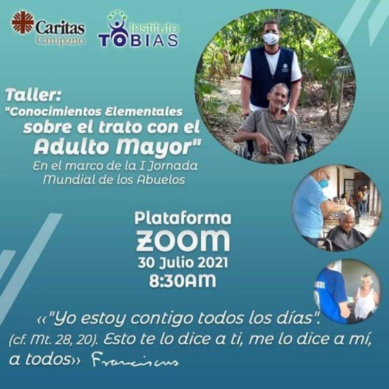 Diócesis de Carúpano realizará taller formativo en el marco de la Jornada Mundial de los Abuelos y Personas Mayores