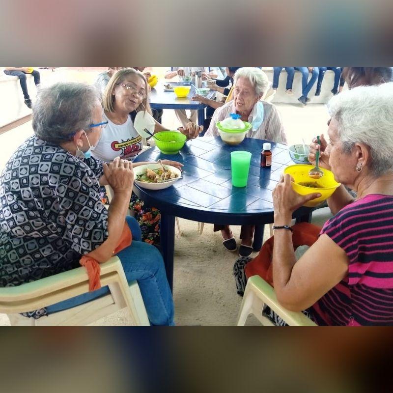 Arquidiócesis de Coro ofreció olla solidaria en la Jornada Mundial de los Abuelos y personas mayores