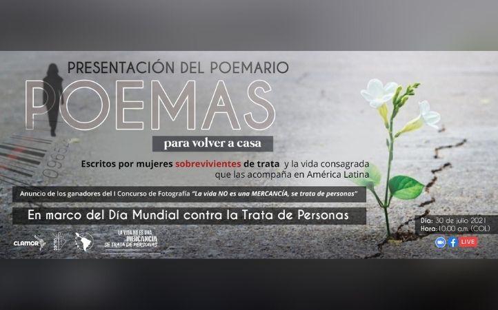 Red CLAMOR invita a encuentro virtual para conmemorar el Día Internacional Contra la Trata de Personas