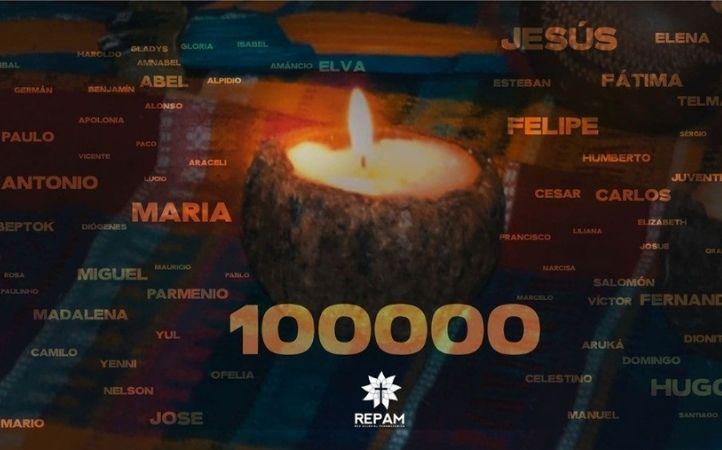REPAM reporta más de 100 mil los fallecidos por el Covid-19 en Amazonia